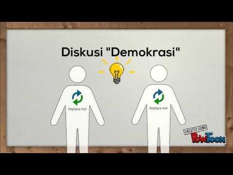 video animasi demokrasi pemilu di indonesia youtube