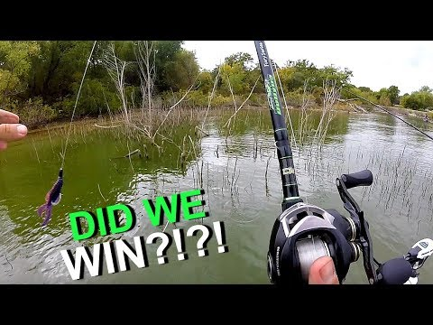 Fishing THICK Cover For Texas Bass W/ LunkersTV!!! (MTB Tournament)