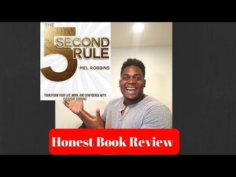 The 5 Second Rule audio book (Honest book review)