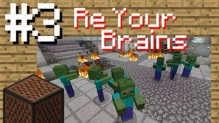 """Minecraft Music Videos #3 - Johnathan Coulton """"Re Your Brains"""" L4d2 (cover)"""