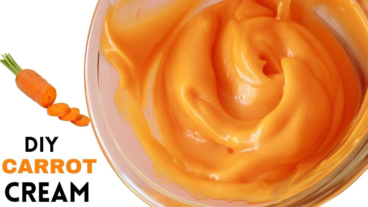 Download Diy carrot cream for glowing skin   Homemade Carrot cream
