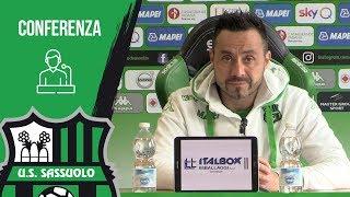 Mister De Zerbi prima di Sassuolo-Parma