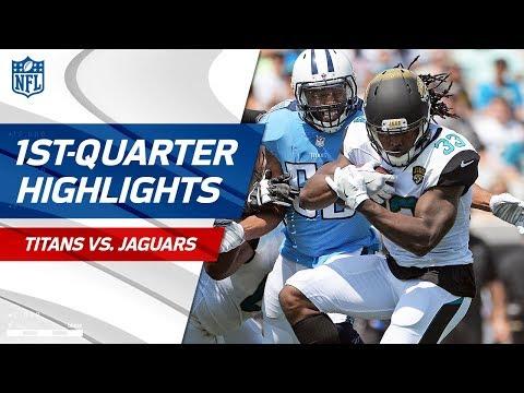 Titans vs. Jaguars First-Quarter Highlights   NFL Week 2