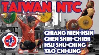 Taiwan NTC Part 1/3 (Hsu Shu-Ching 93kg Snatch + Chiang Nien-Hsin 125kg C&J) [4k 60]