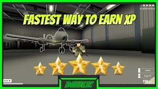 Fastest Way To Earn XP In Blackhawk Rescue Mission Roblox | How To Get Platinum Rank Fast | BRM |