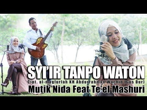 SYI'IR TANPO WATON AKUSTIK MUTIK NIDA Feat TL MASHURI