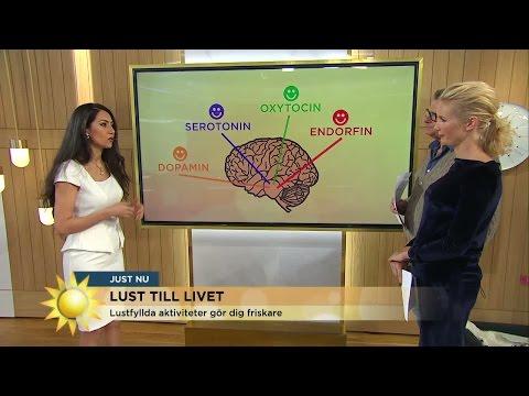 Lust är nyckeln till ett hälsosamt liv - Nyhetsmorgon (TV4)