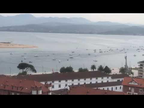 150 barcos se concentran contra las restricciones en la pesca de recreo en Santoña