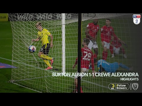 Burton Crewe Goals And Highlights