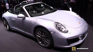 2018 Porsche 911 Targa 4S - Exterior and Interior Walkaround - 2017 Frankfurt Auto Show