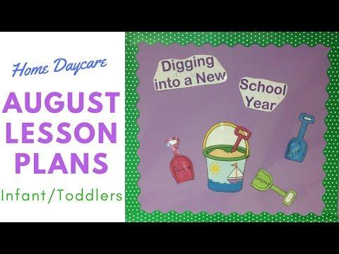 Infant/Toddler Room Lesson Plans