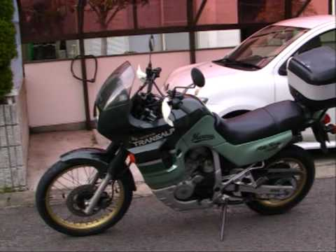 1991 honda transalp 400v 400v youtube. Black Bedroom Furniture Sets. Home Design Ideas