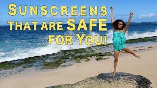 Safe and Natural Sunscreens