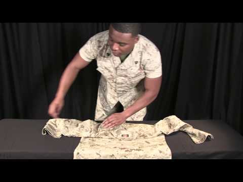 Suns out Guns Out: How to roll sleeves on the MCCUU blouse