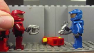 Lego MiniFig Review (Red vs. Blue Space Marine / Halo Pack (SOLD OUT)) from LegoboyProductions.com