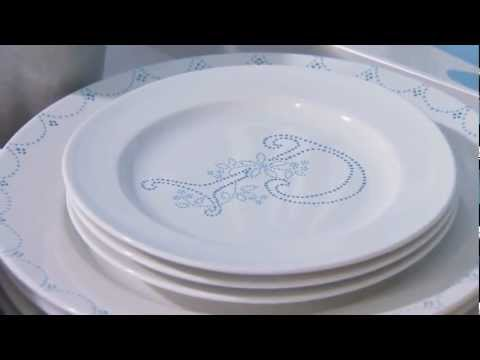 How to Paint Dishes with Glass Paint