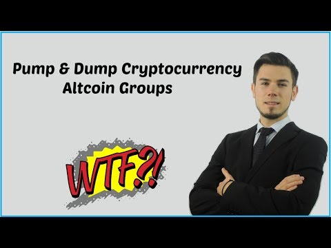 Pump & Dump Cryptocurrency Altcoin Groups