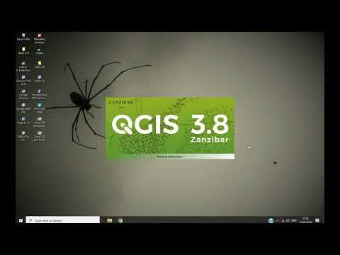 QGIS 3.8 Zanzibar : Download SRTM Maps, Make Contours