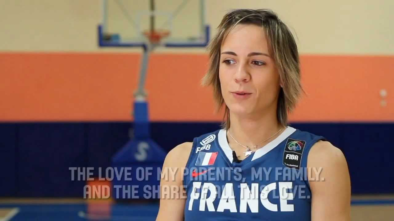 Queens Of Hoops - Interview with Celine Dumerc - YouTube