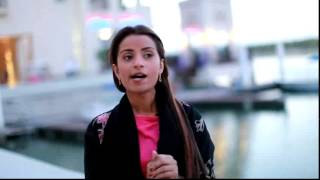 كلمة الفنانة نسرين سروري ( مسلسل الحب سلطان ) لـ مجلة صور الكويت في امارة ابوظبي