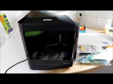 Zortrax Inventure Mit Wasserlöslichem Stützmaterial - PETG Und PLA Und Z-Support - Test - OKM3D