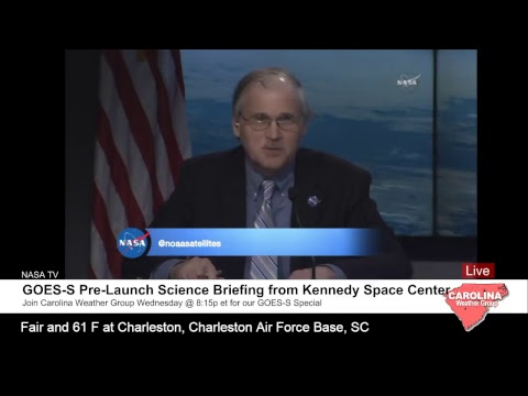 GOES-S Pre-Launch Science Briefing
