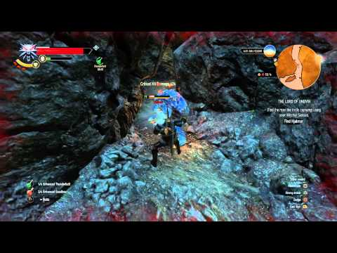 THE WITHCHER 3 WILD HUNT THE LORD OF UNDVIK find the man the trolls capture