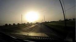 Drive from Katy to Galveston University - Timelapse