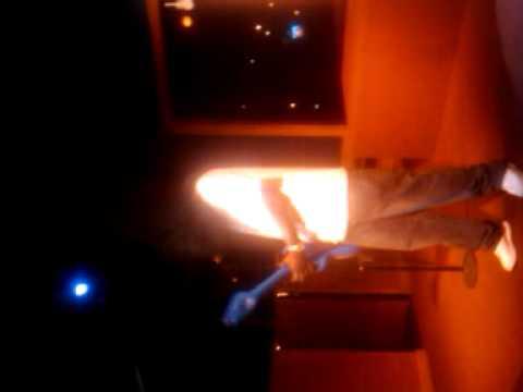 "Mista Fingaz guitar solo on ""Cowboy"" karaoke!"