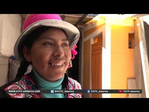 Peru looks to reduce poverty through economic progress