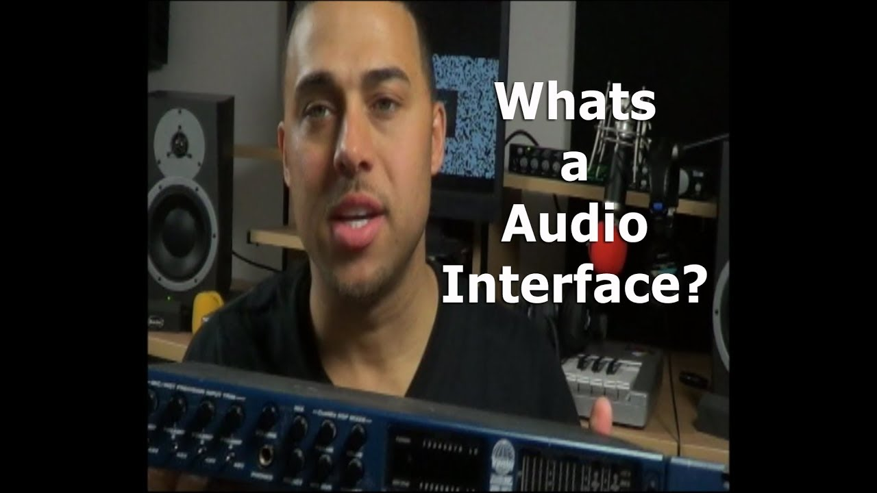 what is a audio interface how does it work motu youtube. Black Bedroom Furniture Sets. Home Design Ideas