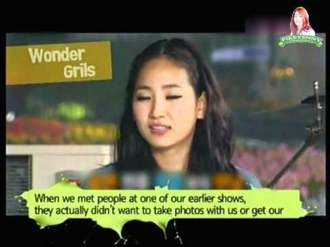 [English Subtitle] 2011.07.17 K-POP No.1 - Queens Of Retro - Wonder Girls