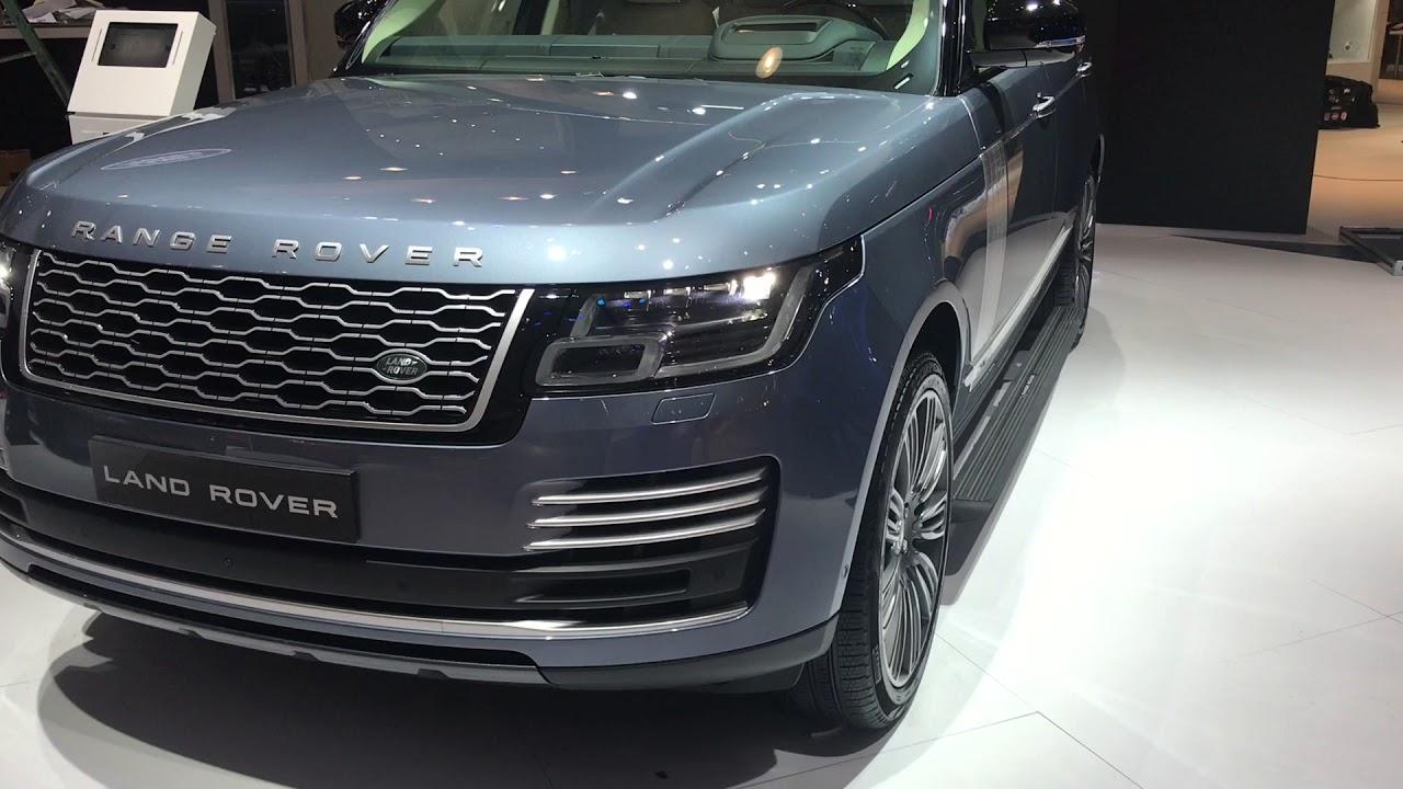 Range Rover Vogue Autobiography 2018 MY Dubai Motor Show 2017
