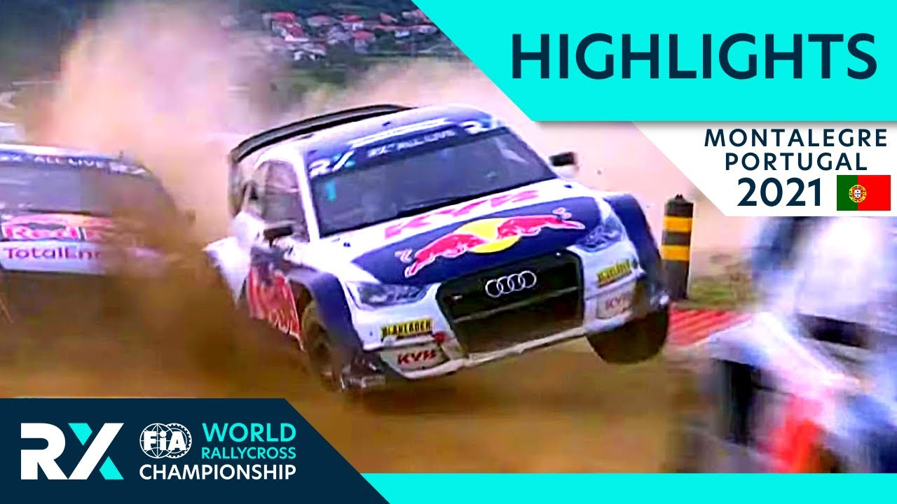 World RX Semi and Final Highlights : Cooper Tires World RX of Montalegre 2021 : Portugal Rallycross