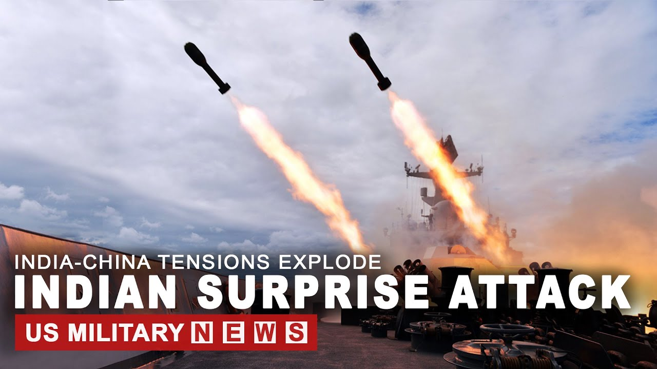 India-China Tensions Explode: A Surprise Overnight Attack