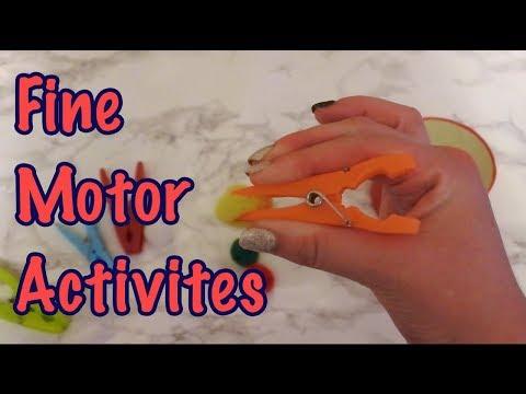 Fine Motor Activites