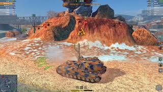 WoT Blitz FV215b 183 6.6K 7 kills Ras