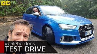Audi RS3 | Scoppietta, ruggisce, ma sa anche andar piano