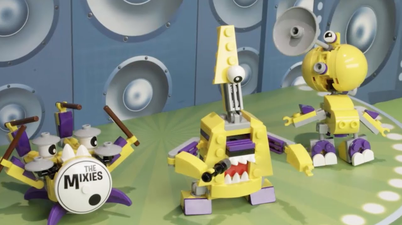 The Music Prank Lego Mixels Series 7 Stop Motion 2