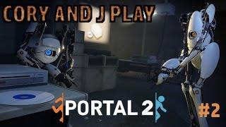 Cory and J Play Portal 2 Epi 2 We did it!