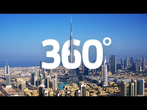 (4K) Travel to Dubai in 360 - World's Greatest Cities - Visi