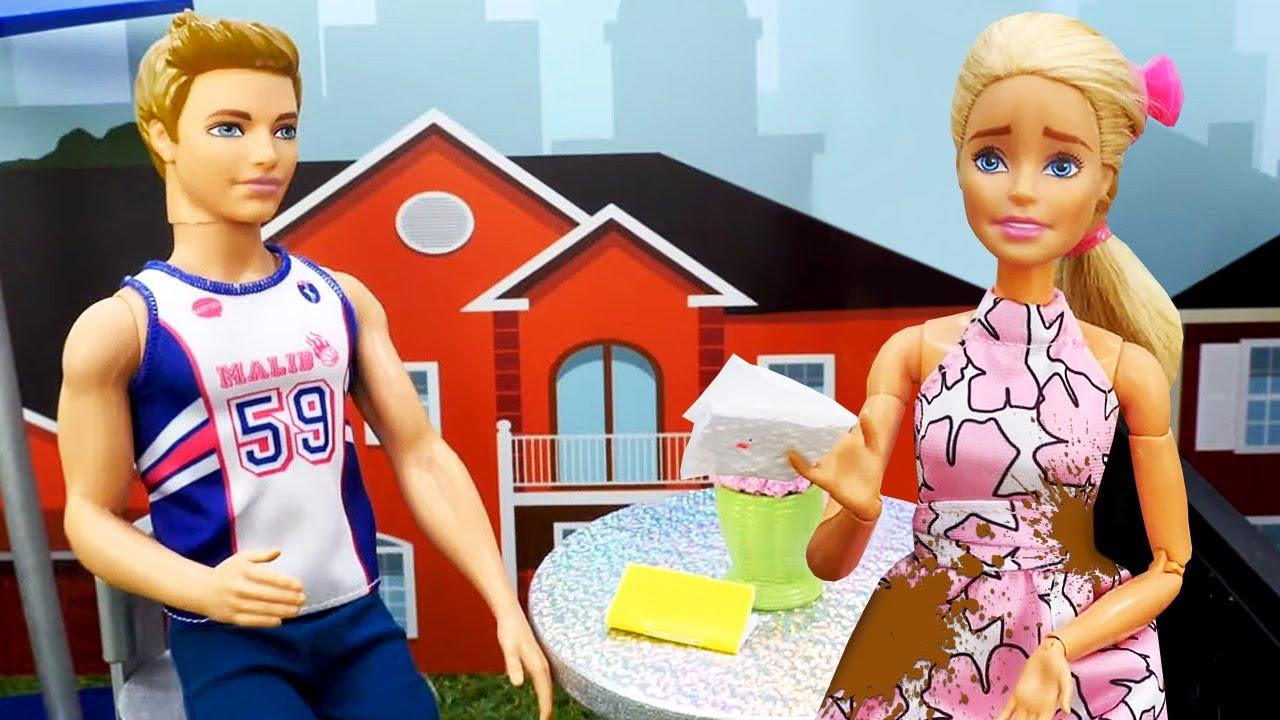 Una cita inolvidable de Barbie y Ken. Vídeos para niñas