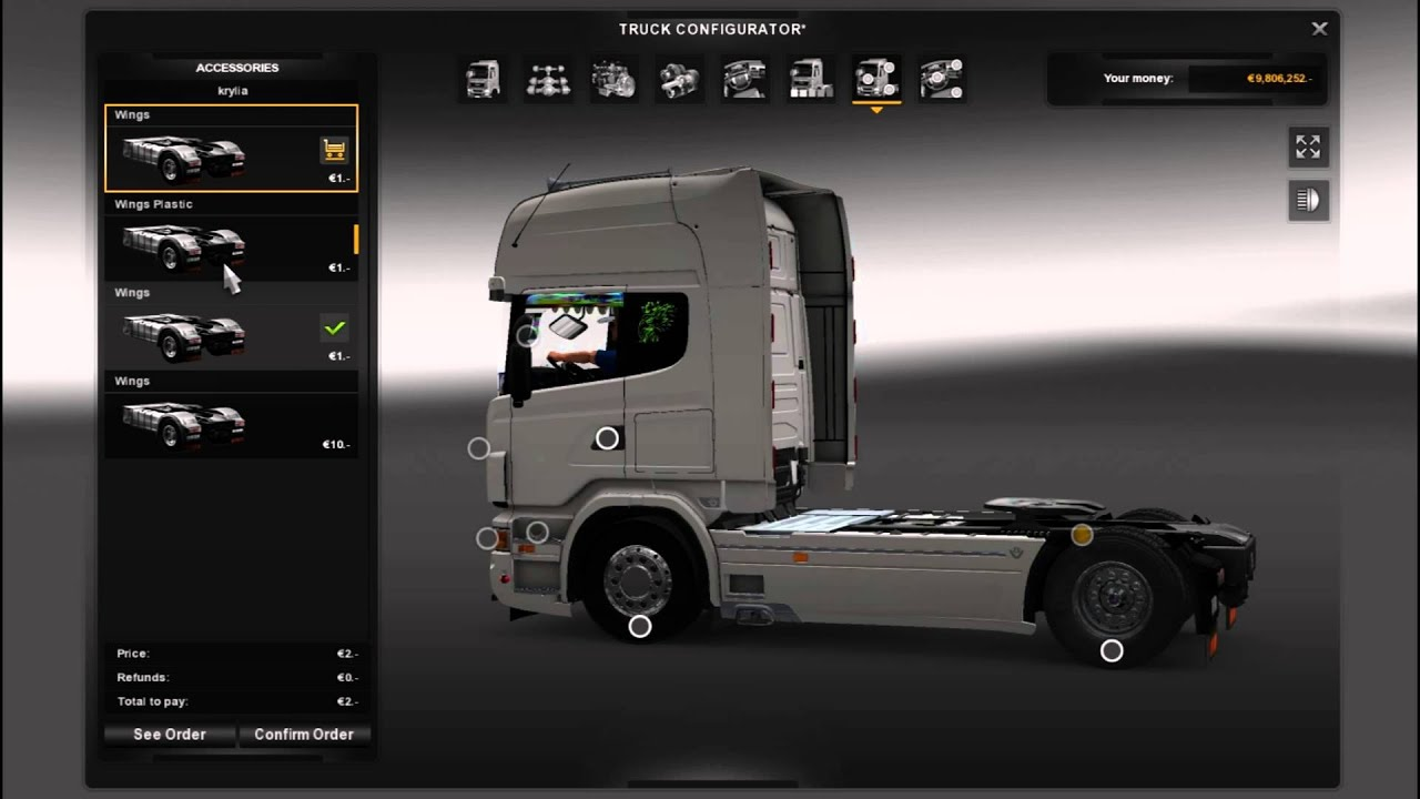 Euro Truck Simulator 2 Full Hd Scania V8 R730 Light