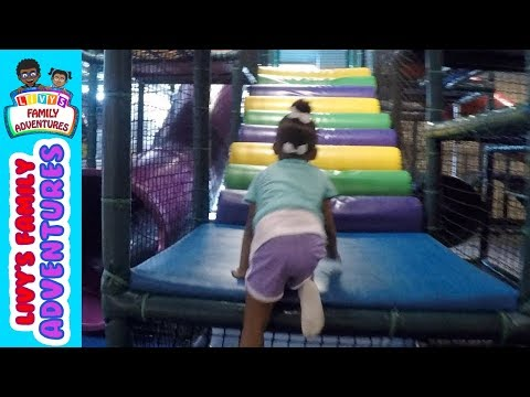 Livy  goes on a adventure at Kid Junction Chantilly