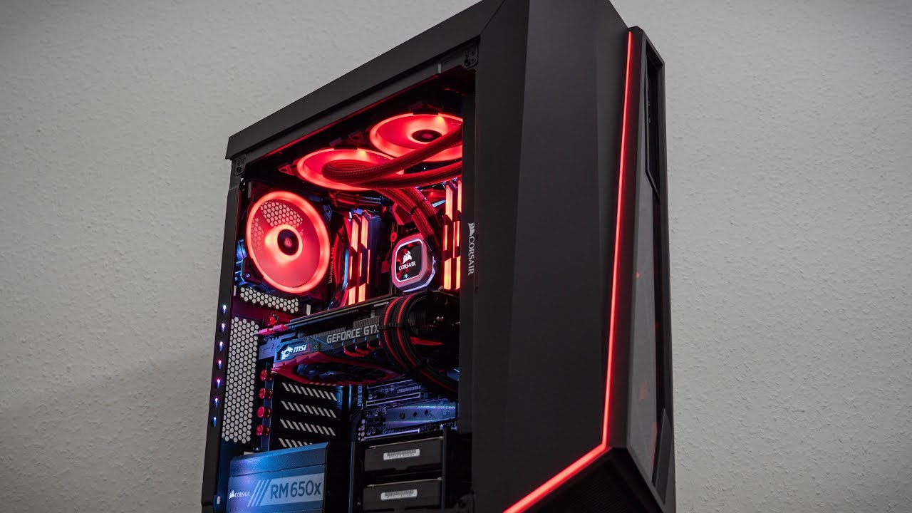 Timelapse Build Corsair Spec Omega 3200€ Workstation + PC Porn