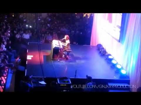 Christina Grimmie Cries During The Show Live In Manila