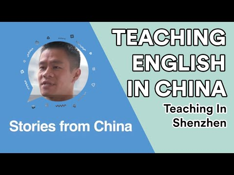 Teaching English in Shenzhen