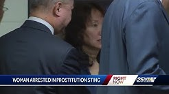 Spa owner arrested in prostitution sting