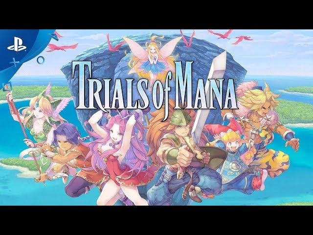 Trials of Mana - E3 2019 Teaser Trailer | PS4