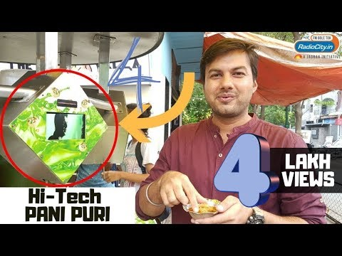 First Ever Pani Puri Water Serving Machine | Ahmedabad Mein Hit Hai Ep. 1